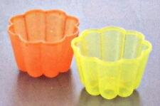 Japanese Plastic Jello Jelly Mold Maker Set of 2 #1938 S-1973