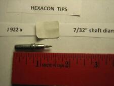 """Hexacon J 922x, soldering tip, 7/32"""" diameter"""