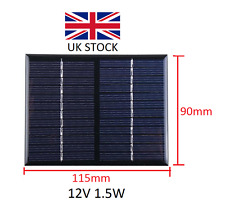 12V 1.5W Solar panel module epoxy DIY solar panels cell phone charger 12V 1.5W