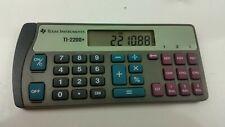 Texas Instruments Ti-2200+ Electronic Checkbook Calculator
