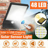 Waterproof 48 LED Solar Wall Street Light Outdoor PIR Motion Sensor Garden Lamp