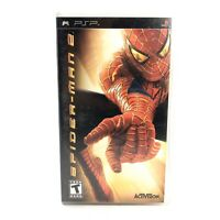 Spider-Man 2 (Sony PSP, 2005, UMD) Spiderman Game cib complete FAST SHIPPING