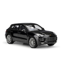 Welly 1:24 Porsche Macan Diecast Model Sports Racing Car Toy NEW IN BOX Black