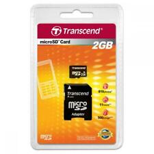 Transcend Micro SD 2GB with SD Adapter