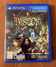 DRAGON'S CROWN PS VITA - IMPECABLE -