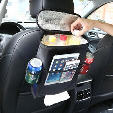 Car Auto Back Seat Organizer Holder Multi-Pocket Travel Storage Bag Hanger Black