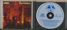 Abba - The Visitors, Blue Face, West Germany, Non-Target, Ultra Rare CD!