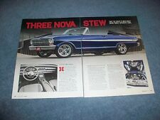 "1962 Chevy II Nova Convertible RestoMod Article ""The Nova Stew"""