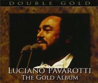 LUCIANO PAVAROTTI - THE GOLD ALBUM 2 CD NEW! VARIOUS