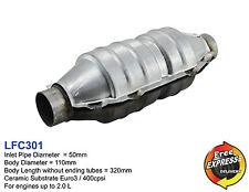 Ceramic Universal Catalytic Converter Round CAT  50mm 400cpsi Euro3 LFC301