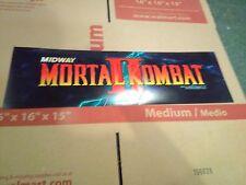mortal kombat 2 arcade marquee #5