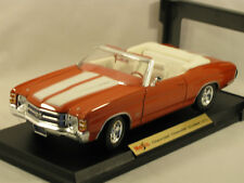 MAISTO 1:18  1971 CHEVROLET CHEVELLE SS454 - EXCELLENT BOXED CONDITION