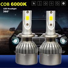 2 X H7 Car LED Headlight Bulbs Turbo COB Lights Kit For HYUNDAI i30 2007-2010