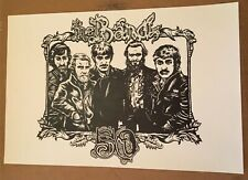 The Band Poster 50th Print Official Rare Not Dylan