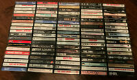 (100 Count) 80'S ROCK / POP Cassette Tape Lot (Big Artists -- See List) - EX