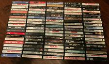 (100 Count) 80'S Rock / Pop Cassette Tape Lot (Big Artists - See List) - Ex