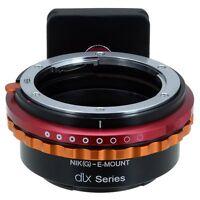 Fotodiox DLX Lens Adapter Nikon G Lens to Sony Alpha E-Mount Camera Body