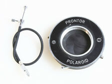 POLAROID PRONTOR SHUTTER W/ CABLE RELEASE