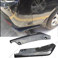 Carbon Fiber Universal Rear Bumper Lip Splitters k Winglets Canards 17.7 Inch PP