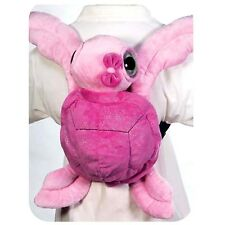 "Fiesta Big Eyed Pink Sea Turtle Backpack 16"" Inches My Plush Pet Pillows Toys"