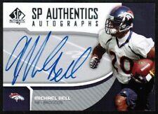 2006 SP Authentic Autographs #SPMB Mike Bell Rookie Broncos Auto (ref 6143)