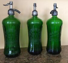 Antique Syphon/Siphon Soda Bottle Collection