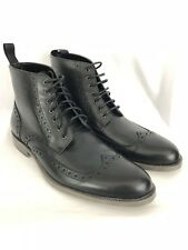 Rush by Gordon Rush Riley Mens Boots Wingtip Leather Shoes 105345 size 11.5 New
