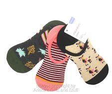 Xhilaration Women's Shoe Liner Pack of 3