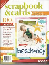 SCRAPBOOK AND CARDS TODAY MAGAZINE 100+ Hot Ideas Summer 2016
