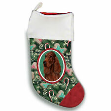 Irish Setter Christmas Stocking