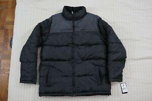 Southpole Mens L size, Black Puffer Coat Jacket.