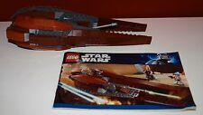 Lego Star Wars 7959 Geonosian Starfighter mit BA, wie abgebildet
