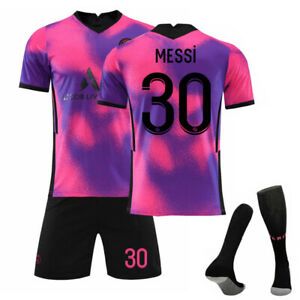 21/22 Kids Adults Football Jersey Full Kits Boys Soccer Training Suits