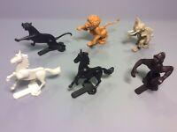 STECKIS: Satz Tiere in der Arena (mit Variante Benito - Topzustand !!!) 1988