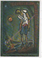 CP ART TABLEAU GEORGES ROUALT Homo homini lupus