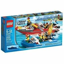 60005 FIRE BOAT set city town lego NEW sealed box legos FLOATS retired