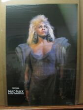 Tina Turner Vintage Poster rock roll 1985 Mad max Beyond Thunderdome Inv#G3348