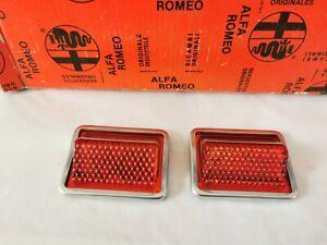 Pair Catadriotti Inner Car Doors Alfa Romeo Alfasud Sprint NOS Altissimo