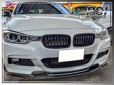 BMW F30 F31 320i 328i 335i Sedan Wagen Shiny Black Front Hood Grill Grille