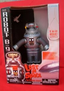 Lost In Space B-9 Robot  MIB Mint in Box NOS Never Opened with Ray Gun