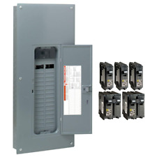 Square D 200 Amp 30 Space 60 Circuit Indoor Main Breaker Box Panel Load Center