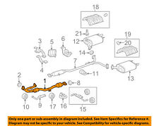 TOYOTA OEM 08-12 Avalon 3.5L-V6 Exhaust System-Front Pipe 174100P100