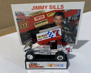 Jimmy Sills #7 World of Outlaws Racing Champions 1/64 Diecast Sprint Car