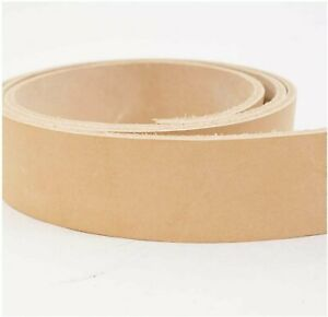 Thick Leather Strip Vegetable Tan Import Cowhide 11-12 oz / 4mm-4.8mm /...