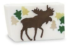 Primal Elements, CHOCOLATE MOOSE Bar Large Hand-cut 7.0+ oz Glycerin Soap