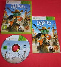 XBOX 360 Rango [PAL (Fr)] Rare Microsoft Slim Fat Console *JRF*