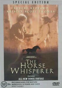 Horse Whisperer DVD 1998 Region 4 - Drama Movie Robert Redford
