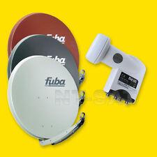 Sat Anlage Fuba DAA 850 - Satellitenschüssel 85cm + Best LNB Quad