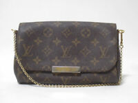 LOUIS VUITTON M40717 Favorite PM Chain Shoulder Hand Bag Pouch Monogram Ex++