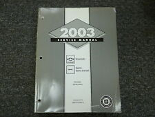 2003 Chevy Silverado 1500 2500 3500 Pickup Transmission Service Repair Manual